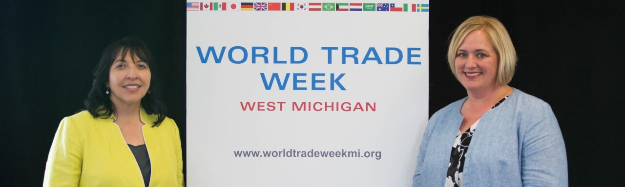 Chairs of World Trade Week